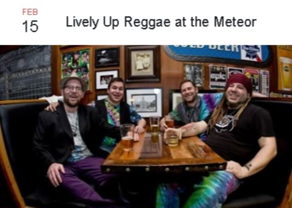Lively UP Reggae at the Meteor