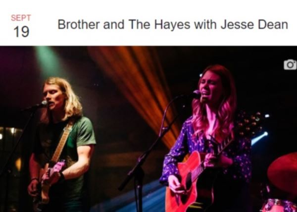 Brother and The Hayes w/Jesse Dean