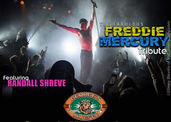 Freddie Mercury Tribute featuring:  Randal Shreve
