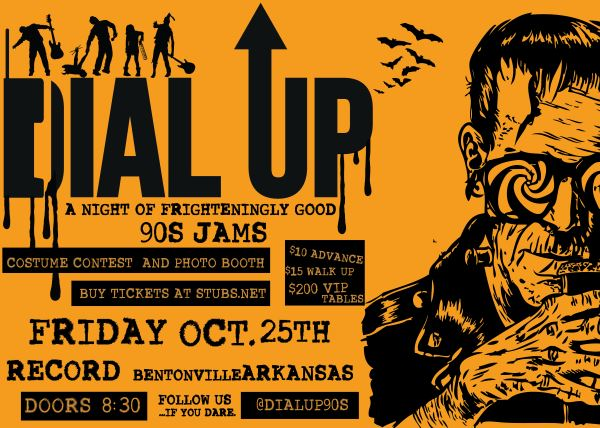 A Night of Frighteningly Good '90s Jams with Dial Up