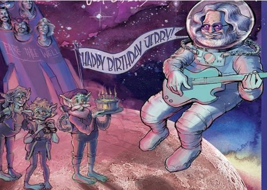 13th Annual Jerry Garcia Bday featuring Forgotten Space