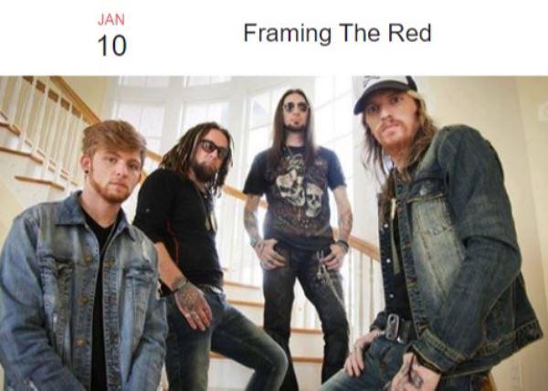 Framing The Red w/Lukas Wigington