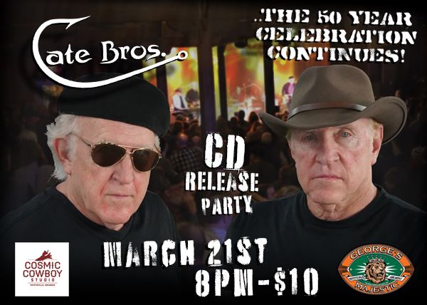 RESCHEDULED Cate Brothers 50th Run Continues!