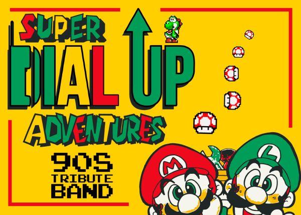 Super Dial Up Adventure 90's Tribute