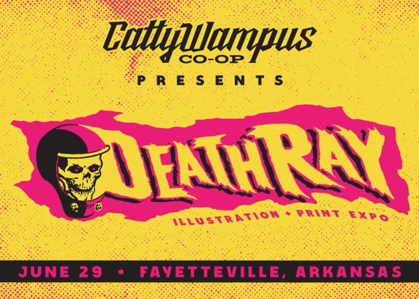 Death-Ray Illustration + Print Expo
