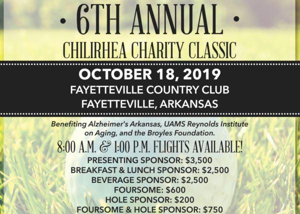 6th Annual Chilirhea Classic