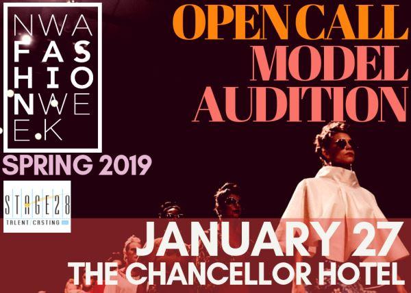 NWA Fashion Week Model Auditions