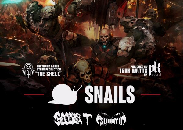 Snails with Boogie T and Squnto