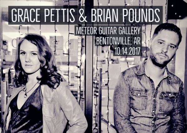Brian Pounds and Grace Pettis
