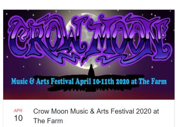 Crow Moon Music & Arts Festival