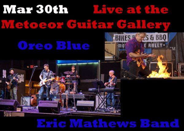 Oreo Blue and Eric Mathews Band