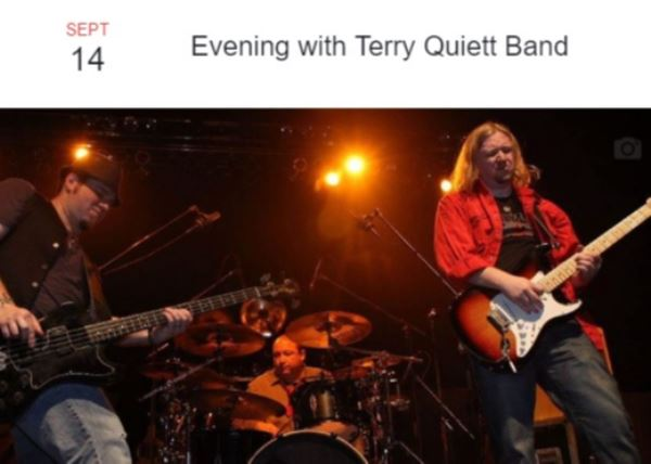 Evening with the Terry Quiett Band