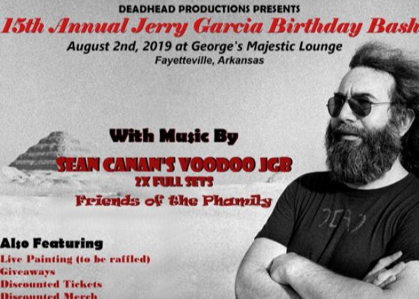 15th Annual Jerry Garcia Birthday Bash