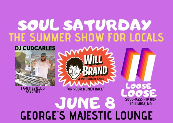 Soul Saturday with Will Brand & the Rubber Band