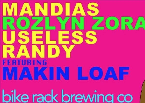 Brewroom Sessions: Rozlyn Zora + Mandias, Useless Randy & Makin Loaf