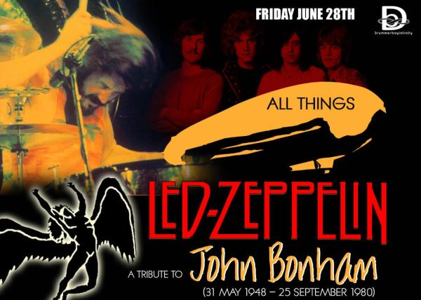 Led-Zepplin A Tribute to John Bonham