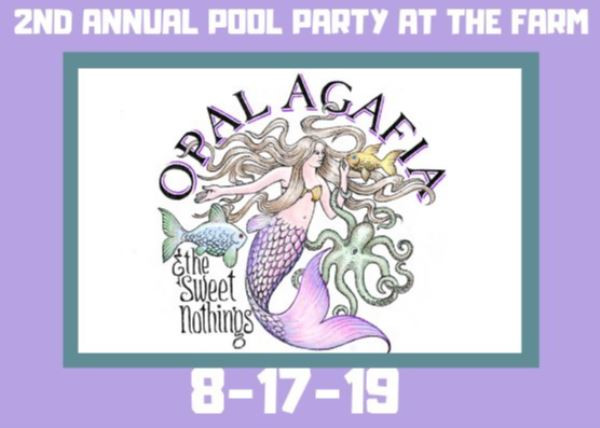 2nd Annual Pool Party w/ Opal Agafia at The Farm