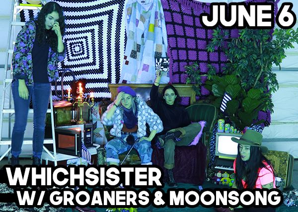 Witchsister w/ Groaners & Moonsong