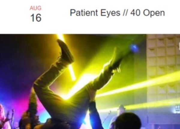 Patient Eyes - Metal Night at the Meteor