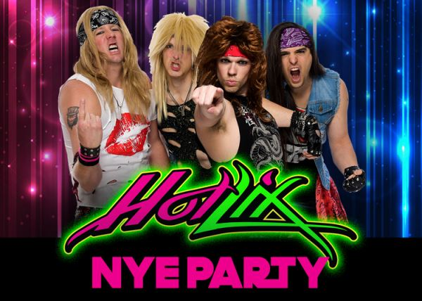 Hot Lix New Years Eve 80's Hairband Bash