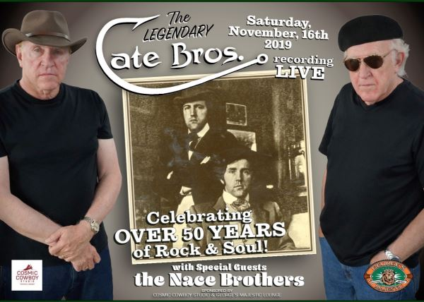 Celebrating 50 Years of the Cate Brothers