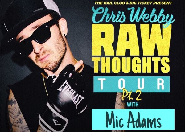 Chris Webby w/special guests Mic Adams, ANoyd, R-Mean, Rook