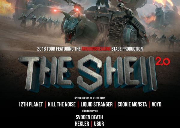 Snails with Cookie Monsta, Svdden Death, Ubur