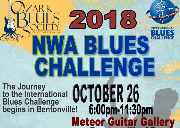 2018 NWA Blues Challenge