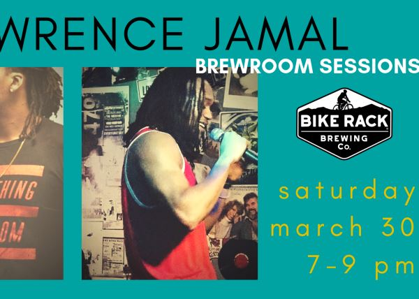 Brewroom Sessions: Lawrence Jamal