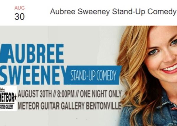 Aubree Sweeney Stand-Up Comedy