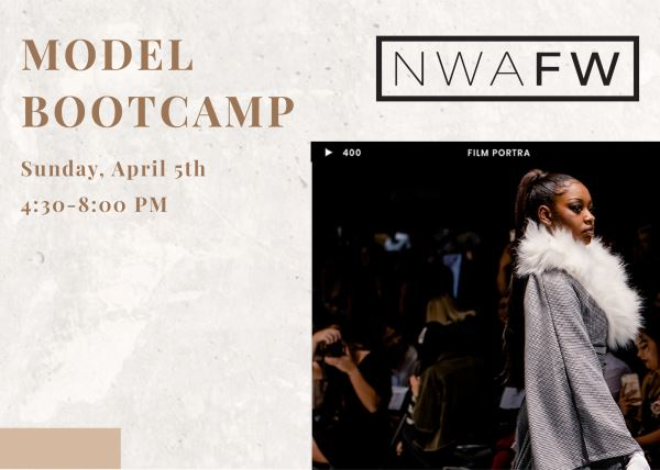 NWA Fashion Week Model Bootcamp