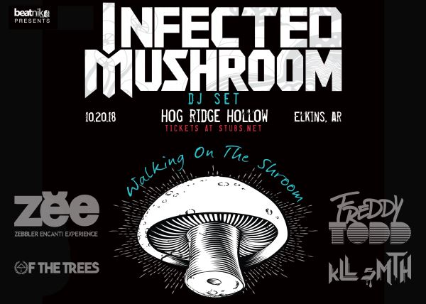 Infected Mushroom and Friends at Hog Ridge Hollow