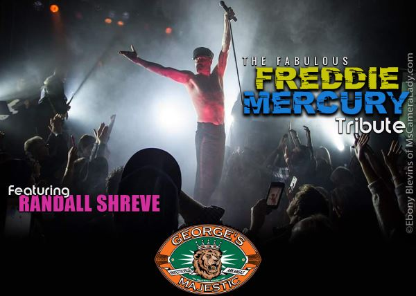 Freddie Mercury Tribute featuring: Randall Shreve