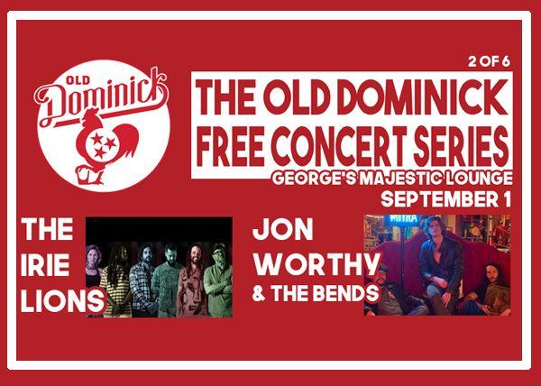 Jon Worthy & The Bends w/ Irie Lions