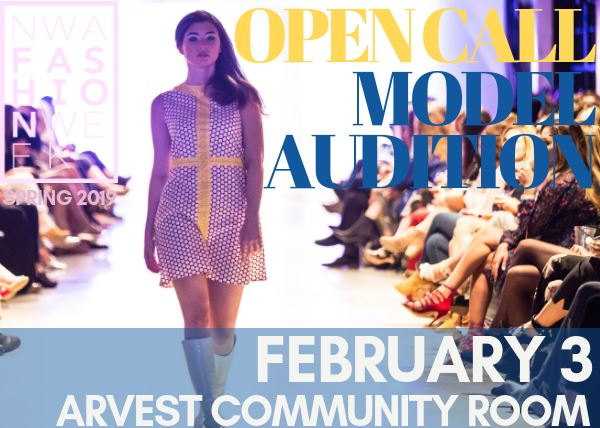 NWA Fashion Week Model Auditions