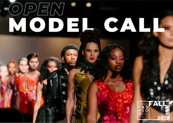 NWA Fashion Week Open Model Audition