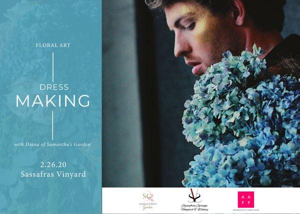 Floral Art: Dress Making