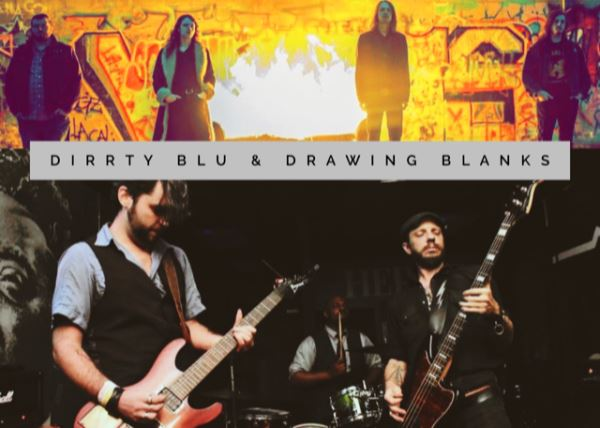 Dirrty Blu with Drawing Blanks