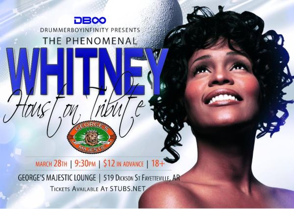 RESCHEDULED - Whitney Houston Tribute
