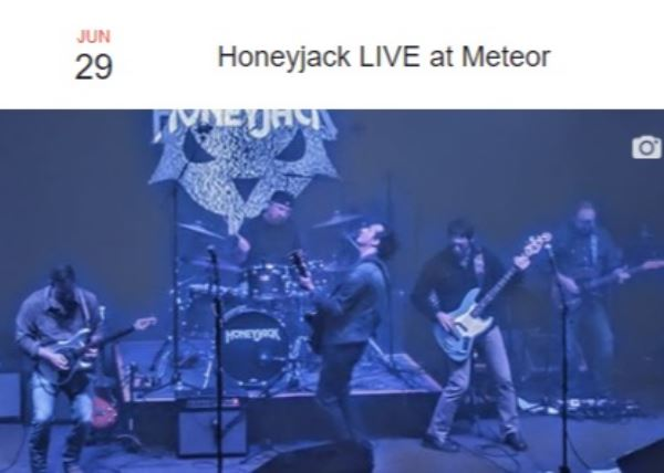 Honeyjack at the Meteor