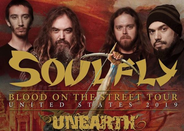 """SOULFLY """" Blood on the Street Tour"""""""