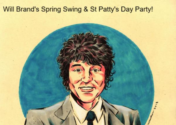 St. Paddy's Saturday with The Poggs + Will Brand and the Rubber BandParty