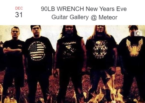 90lb Wrench New Years Eve Party
