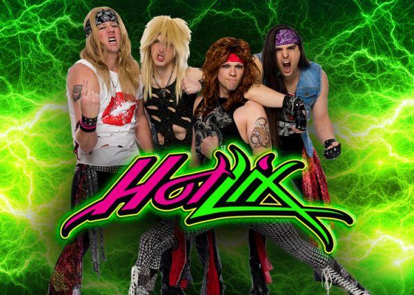 Hot Lix 80's Hair Band
