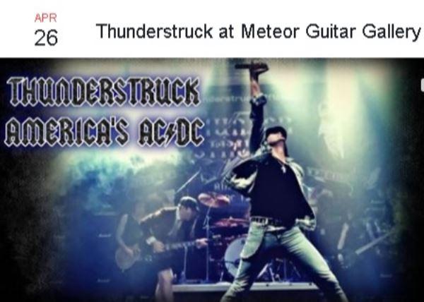Thunderstruck Americas AC/DC